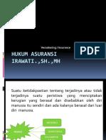 Hukum Asuransi SLIDE 2015