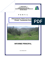 Estudio Afianzamiento Hidrico Vilcasit Tacabamba Chota 0 0