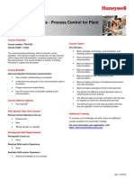 Tps Fundamentals Process Control for Plant Operation