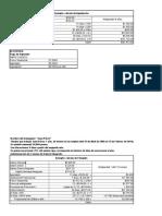 Ejercicios de Finiquito
