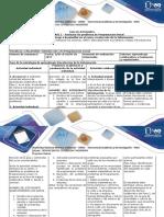 Guía de Actividades y Rubrica de Evaluación Unidad 1 - Fase 2 Redactar Un Problema de Programación Lineal