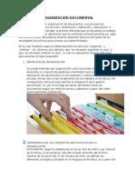 Organización Documental