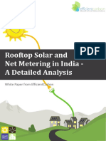 Net Metering and Solar Rooftop Whitepaper EfficientCarbon