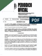 Ley de Los Derechos de Niñas, Niños y Adolescentes de Tabasco 23 Diciembre 2015