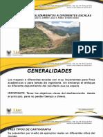 Mapeo de Deslizamientos a Diferentes Escalas