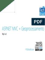 ASP.NET MVC + Geoprocessamento (ppt)