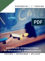 Brochure Diplomado Neurociencias y Educación Integrativa 2017
