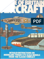 Battle of Britain Aircraft Instructions on Modelling 1-72 Scale Models
