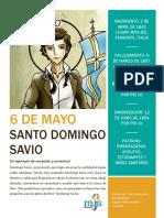 Biografía Domingo Savio