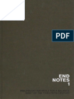 Endnotes Endnotes 1 Preliminary Materials for a Balance Sheet of the Twentieth Century