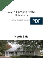north carolina state university solar house