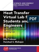 Heat Transfer Virtual Lab for Students and Engineers (2014)