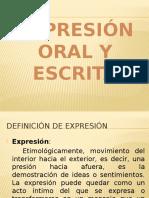 Oral y Escrita