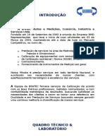 Carta de Apresentação de Serviços/metrologia
