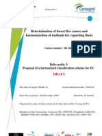 Proposal for EU Fire Causes Classification Scheme