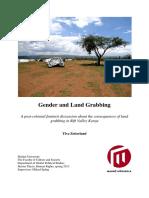 Gender and Land Grabbing Ylva Zetterlund