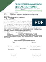 Pelatihan Pengurusan JenazahDKM Mesjid al Muhsinin 2015.doc