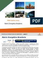 AULA_3 _Matriz Energética Brasileria