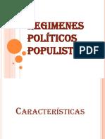 Regimenes Politicos Populistas