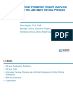 Clinical Evaluation Reports for Medical Devices  Vegher Hana