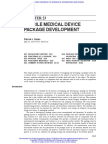 Sterile Medical Device Package Development