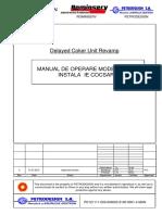 Manual de Operare Modernizare Instalatie Cocsare Rev 0