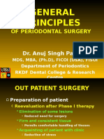 General Principles of Periodontal Surgery