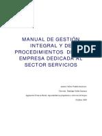 Manual de Gestión Integral y Procedimientos