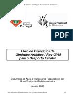 Livro de Exercicios de Artistica Play Gym