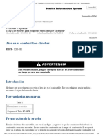 Aire Sistema Combustible