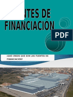 Fuentes de Financiación
