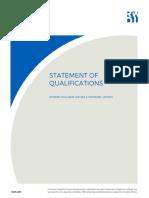 RWDI - Albion Oak Park - Statement of Qualifications