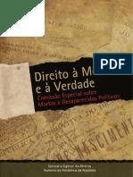 Secretaria Especial Dos Direitos Humanos - Brasil Direito à Memória e à Verdade