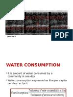 Water Quantity & Population Esimation