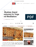 8 Mudras (Hand Gestures) in Yoga and Meditation