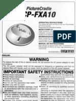 Fuji Cp-fxa10 Cradle