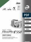 Fuji e550 Camera