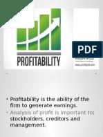 Ch8 Profitability