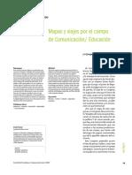 HUERGO - Mapas y Viajes Por El Campo de Comunicación Educación