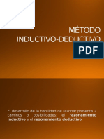 Método Inductivo Deductivo