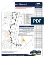 Bus Route Map Noordwyk M2