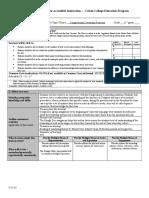 educ 302-303 - calvin lesson plan form  lesson 2