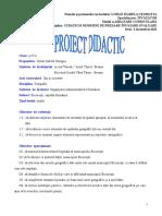 Proiect Didactic Bucuresticapitala Romaniei