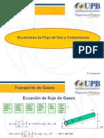 Ecuaciones de Flujo de Gas y Compresoras w Gonzales