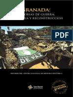 Granada Guerra Resistencia Reconstruccion