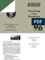 Dividing Our Enemies - JSOU