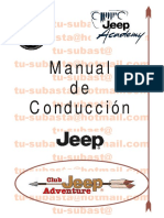 Manual Con Ducci on Jeep