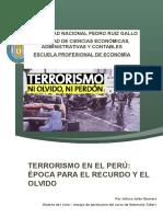 Terrorismo Ensayo