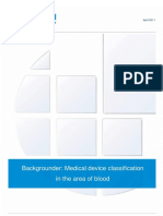 EcoMed Classification Blood Bags Backgrounder
