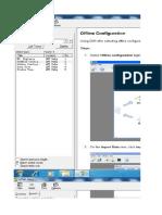 Offline SDR Configuration